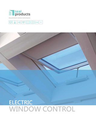 Electric window control brochure
