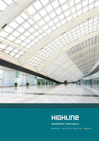 highline window control brochure